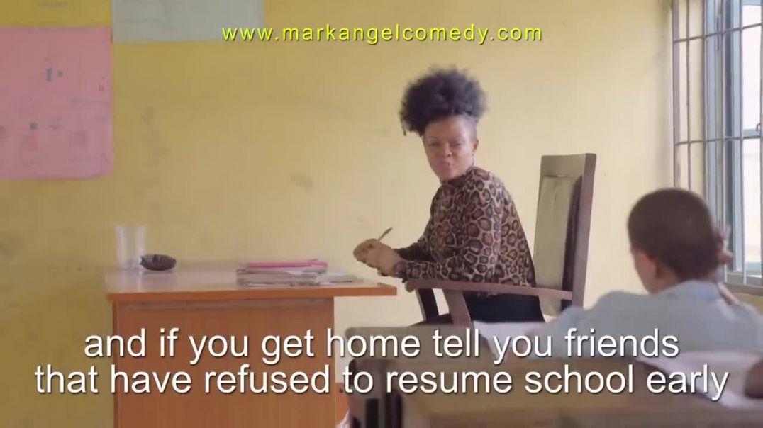 SCHOOL PROTEST  (Mark Angel Comedy)