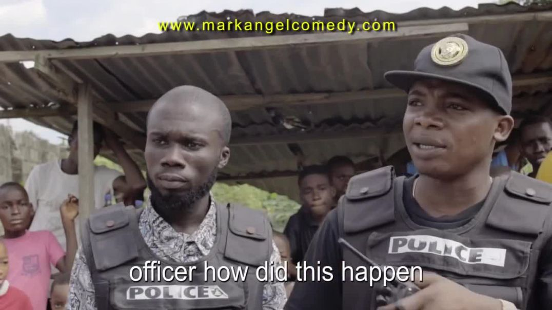 POLICE OFFICER part 4 (Mark Angel Comedy)