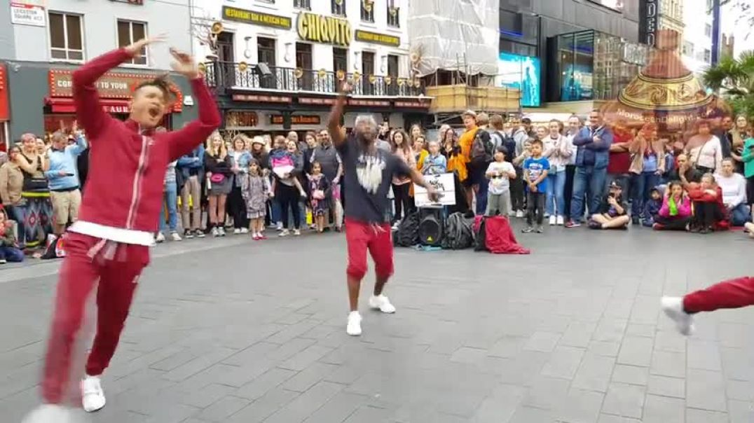 Talented and Amazing street Dancers Dancing In London, Leicester City
